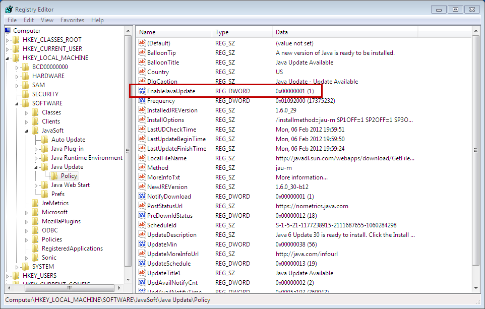 How to Disable JAVA Update on Windows Server – Microsoft Geek