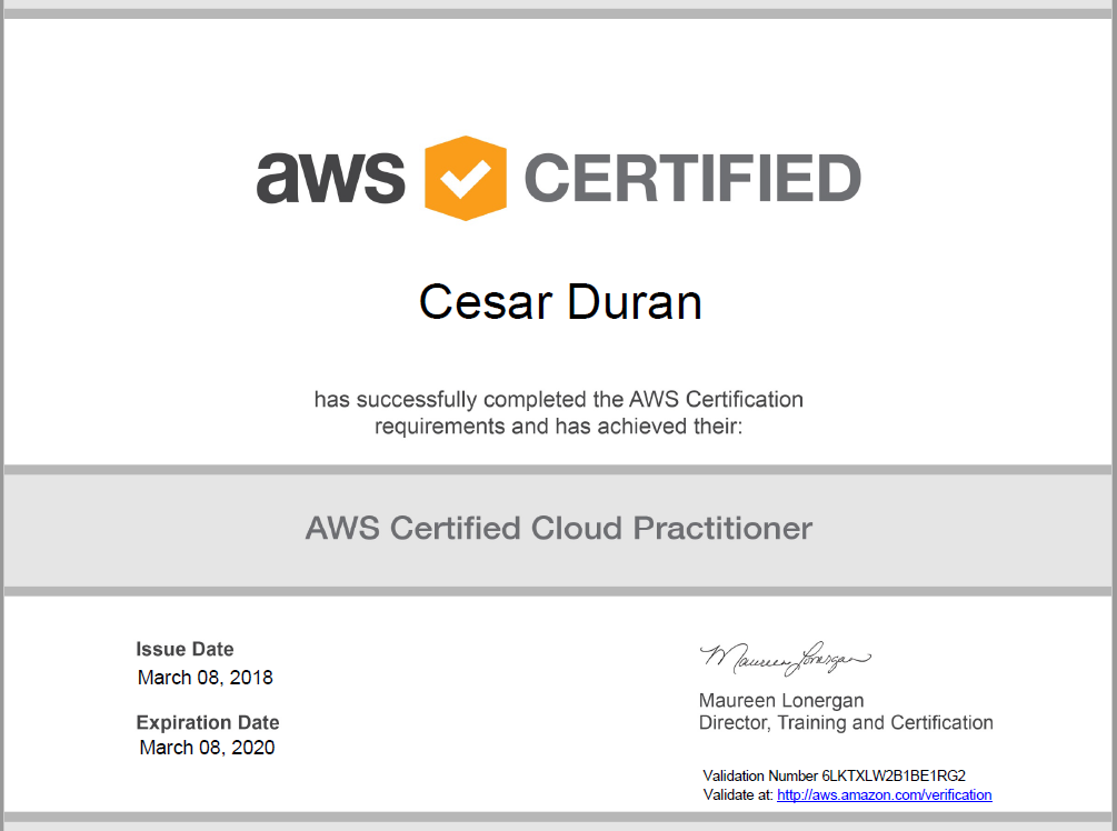 AWS Certified Cloud Practitioner – Microsoft Geek
